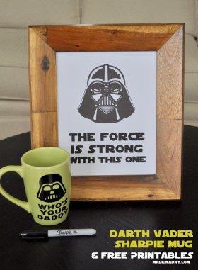 Darth Vader Sharpie Mug DIY