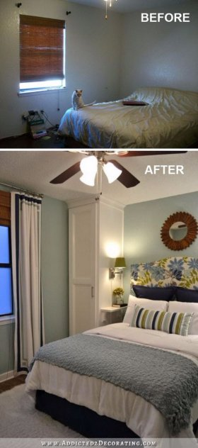 Creative Ways To Make Your Small Bedroom Look Bigger HomeImprovement RealEstate DIY