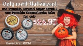 Only 7 days left on this offer! No trick, all treat. skincare beauty