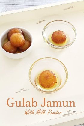 Milk powder Gulab jamun recipe