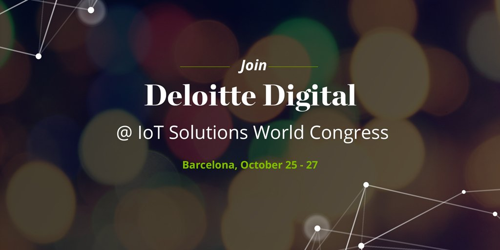 It's the first day of #IoTSWC16! Stop by our booth to check out our innovative IoT demos.