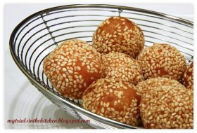 From my blog archive: Sweet Potatoes Mini Balls - ://