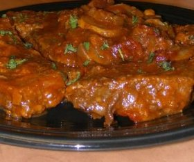 Paprika Steaks with Tomato Gravy