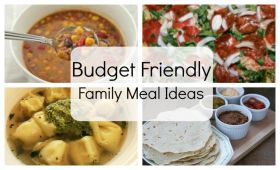 Budget friendly meals for when you are low on cash