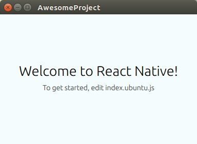 React-Native apps now can be run on Ubuntu @creotiv  #Reactjs #JavaScript #WebDev #Linux