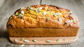 Mindful by Sodexo\'s Pumpkin Bread recipe is great way to savor the flavors of autumn