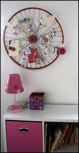 Old Bike Wheels Reused! - Crafts