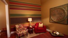 Painting Horizontal Stripes HomeTips DIY