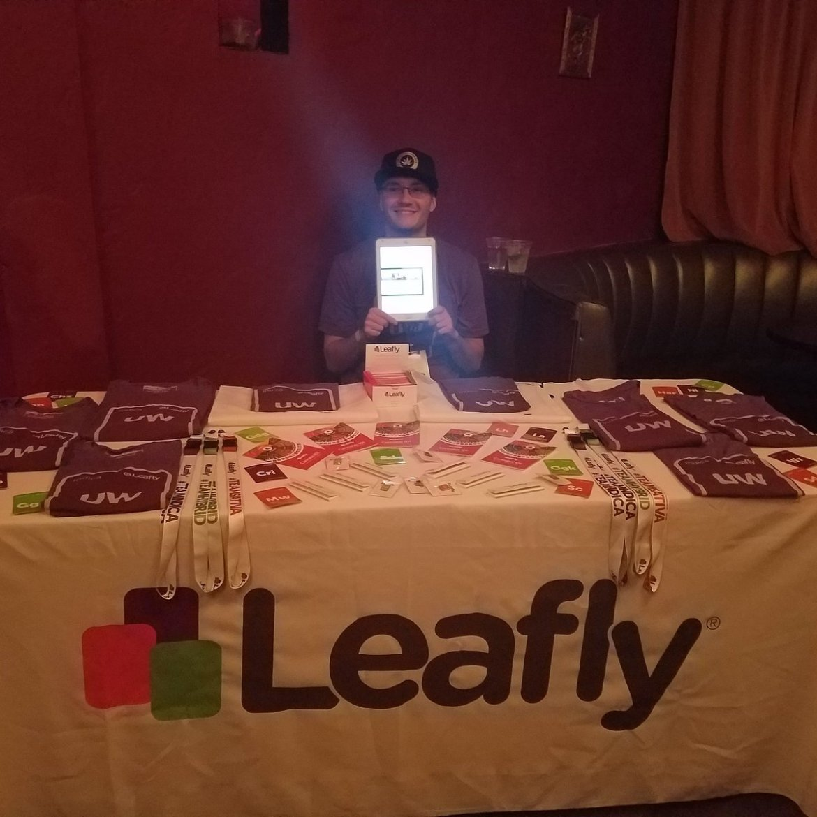 S/o to #Leafly the official Sponsor for #420fashionweek!  #weed #Cannabis