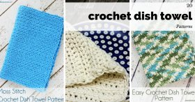 Love these free crochet patterns! DIY crochet crafts