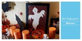 Get big screams at a low cost with these DIY Halloween decorations.