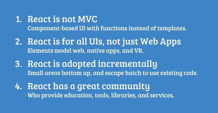 Here are my @reactjs slides from the #QconSF frontend frameworks discussion last Monday!