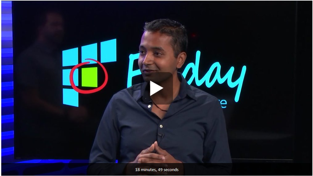 New #Azure Friday video with Karthik & @shanselman