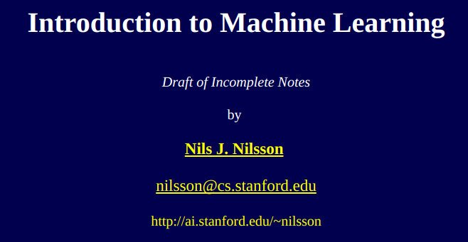 #ICYMI 5 #EBooks to Read Before A #MachineLearning Career