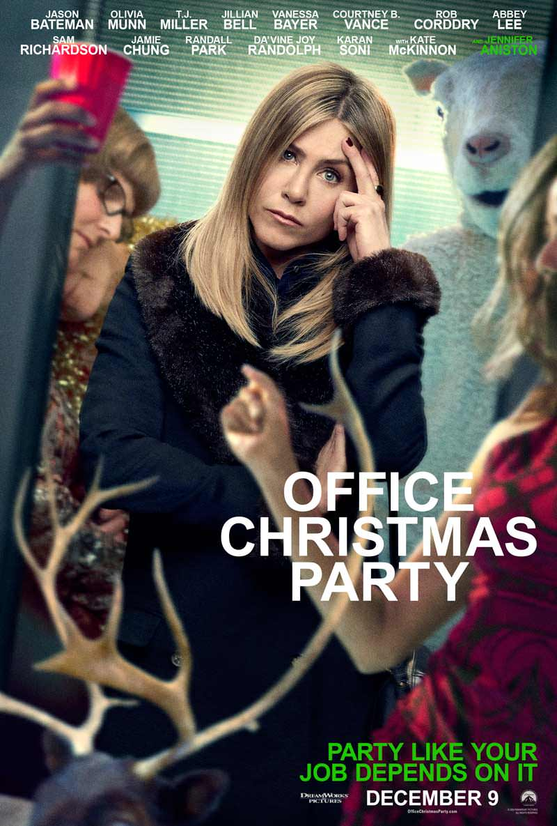 Office Christmas Party Red Band Trailer And Posters Revealed ...