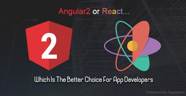 RT @enlance01 #Angular2 Or #React - Which Is The Better Choice For #AppDevelopers   #reactjs