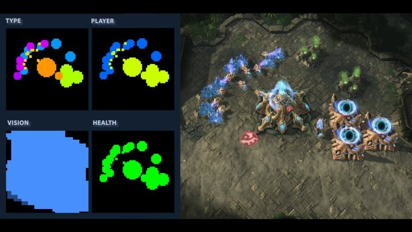 Google's artificial intelligence #DeepMind is learning to play Starcraft