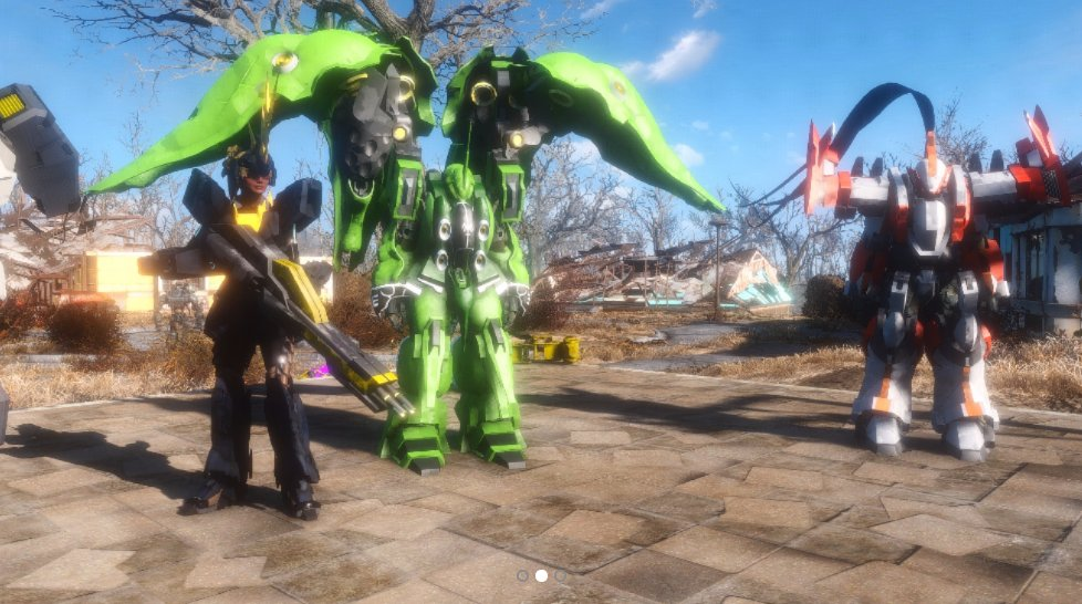 On Twitter XboxOneFallout 4MOD Gundam And FMP