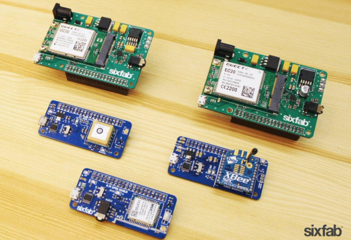 Add connectivity to your projects with Sixfab's new IoT shield family: