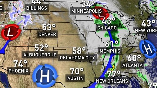 HD Decor Images » Weather map  wednesday is the busiest travel day of the year  no     WEATHER MAP  Wednesday is the busiest travel day of the year  No weather  delays