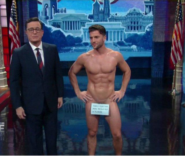 Naked Male Celebrity On Twitter Dan Dexter Got Naked On Stephen Colbert Show Malecelebrities Stud Hunk Https T Co Pcdxclrp