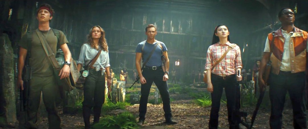 Kong: Skull Island photo with Tom Hiddleston, Brie Larson, Jing Tian