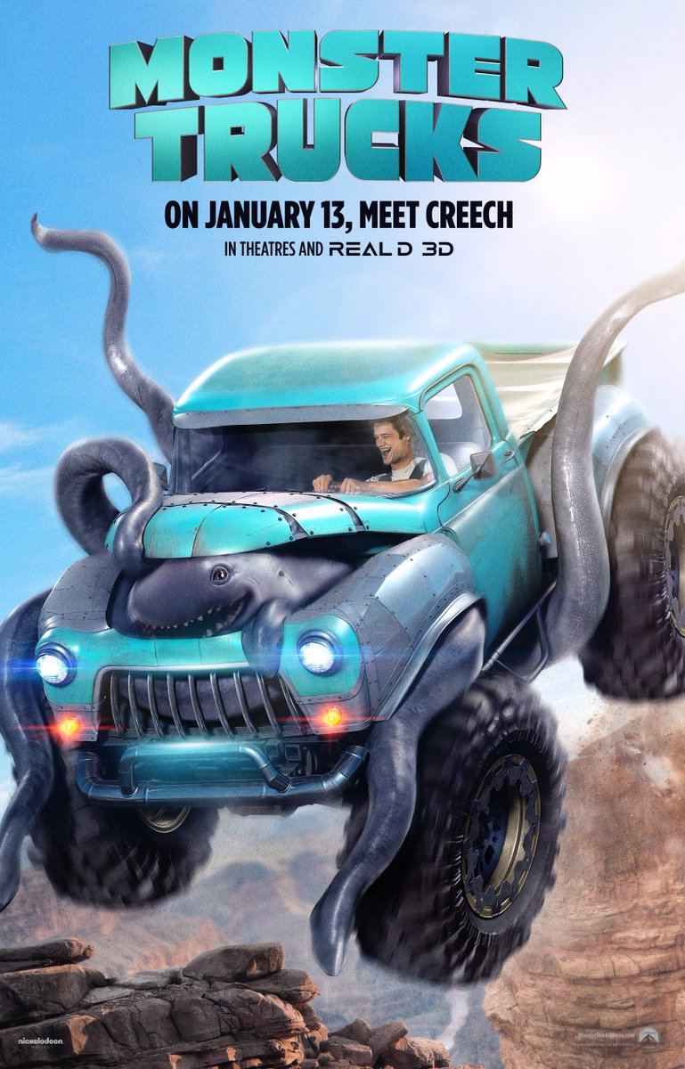 Paramount Pictures Revealed New Monster Trucks Trailer
