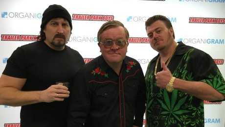 Trailer Park Boys and Organigram partner in pot products: