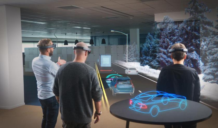 #HoloLens is helping @volvocarsglobal to push the boundaries of innovation. #MixedReality