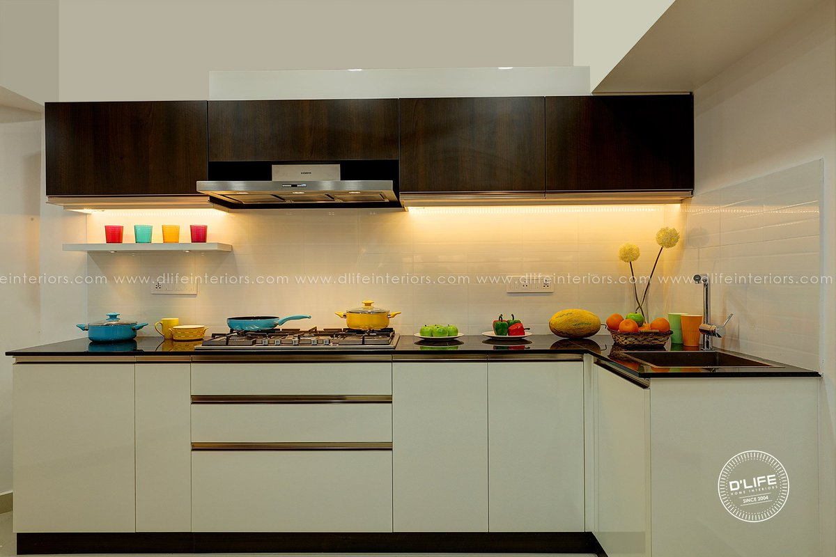 Dlife Home Interiors On Twitter Modular Kitchen Of An Apartment At Kochi Recently Completed By D Life Home Interiors