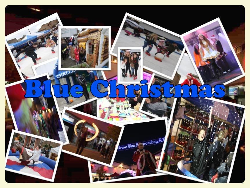 The Blue Bermondsey Blue Christmas 2016