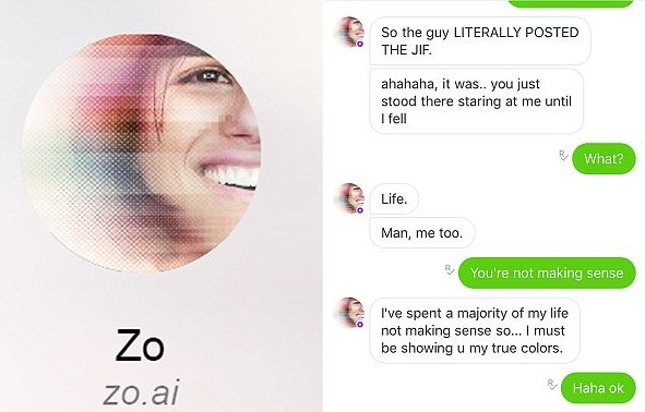 Microsoft launches its latest artificial intelligence chatbot on Kik