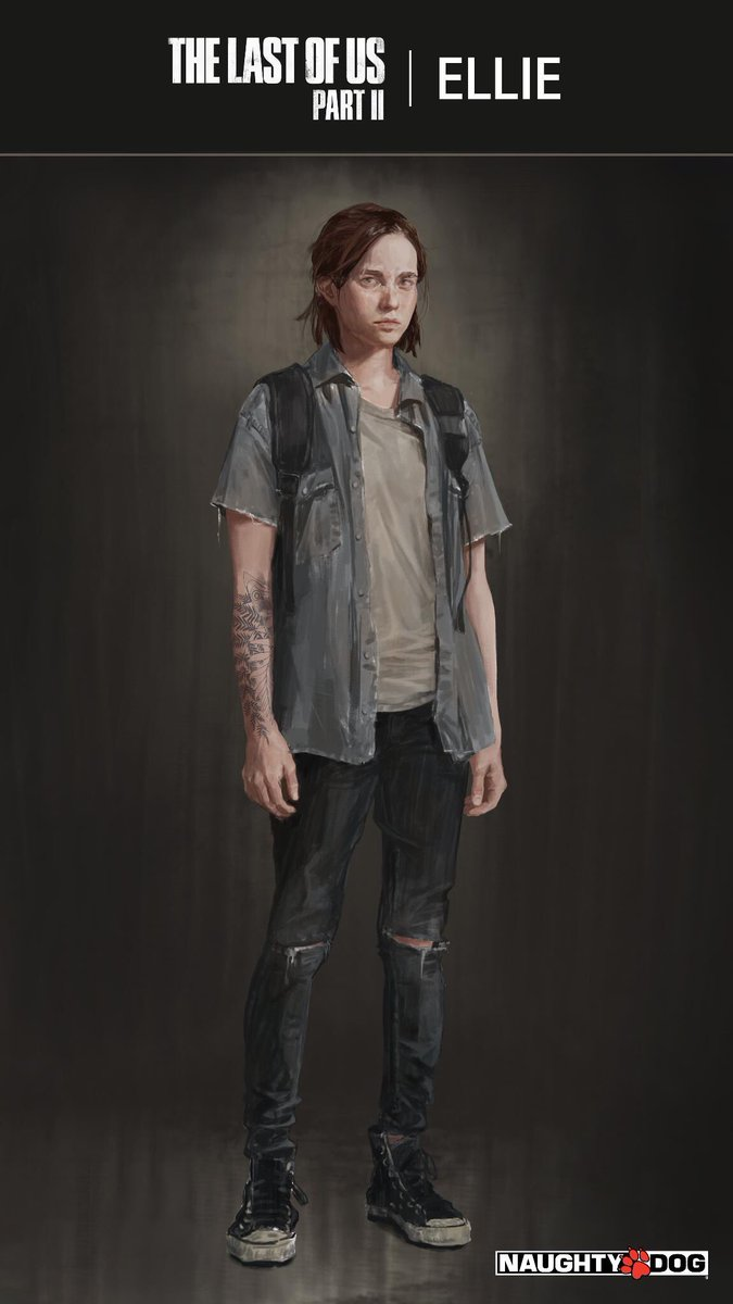 The Last of Us Part II Concept Art Featuring Ellie Revealed