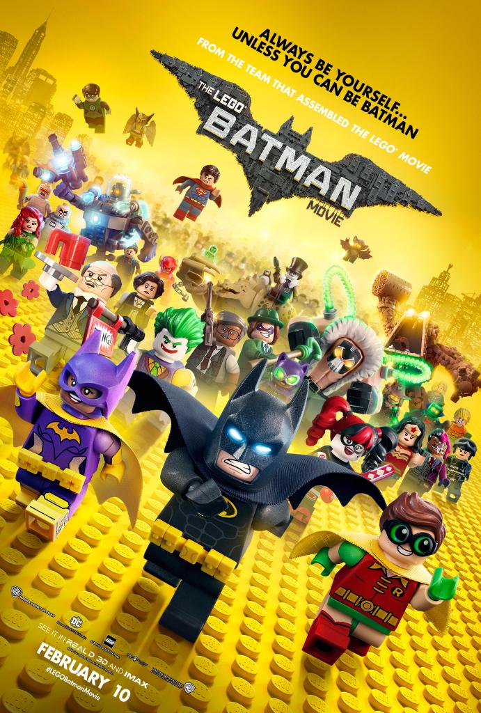 The Lego Batman Movie Characters Assemble In Latest Poster