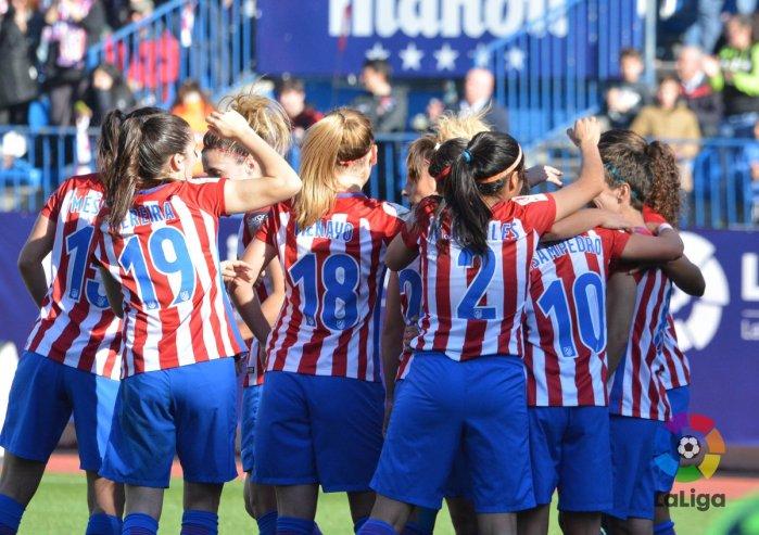 Vicente Calderón fútbol femenino