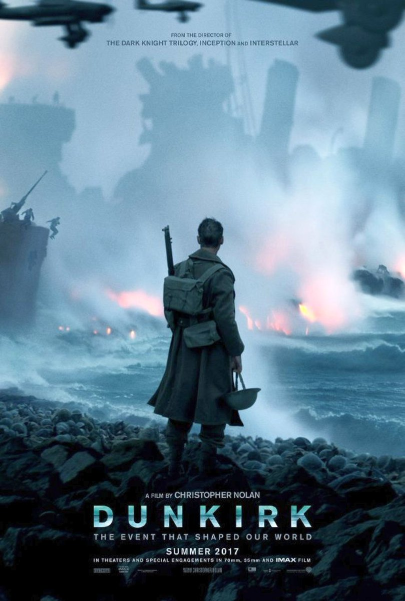 The First Dunkirk Poster Revealed