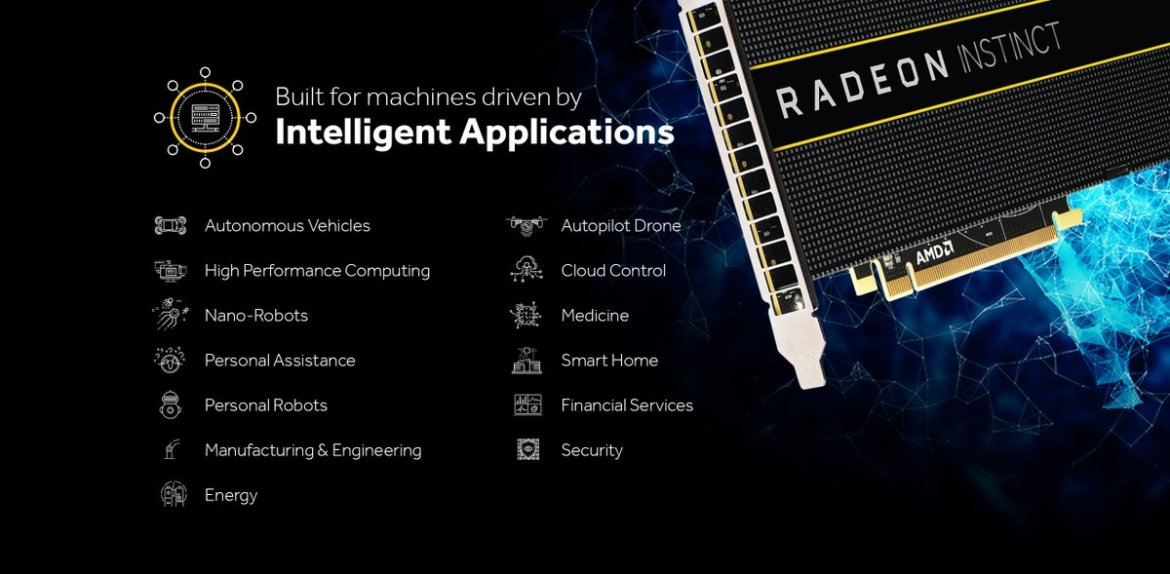 AMD is finally jumping into the deep learning game!!! Introducing Radeon Instinct