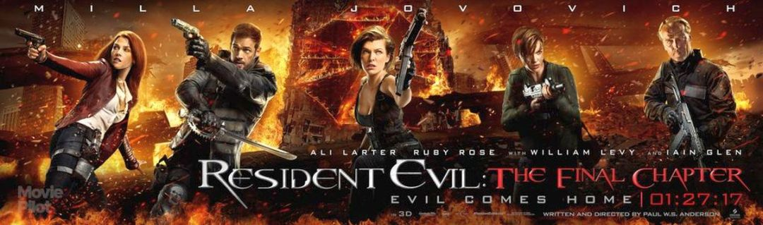 Resident Evil: The Final Chapter Character Posters Revealed