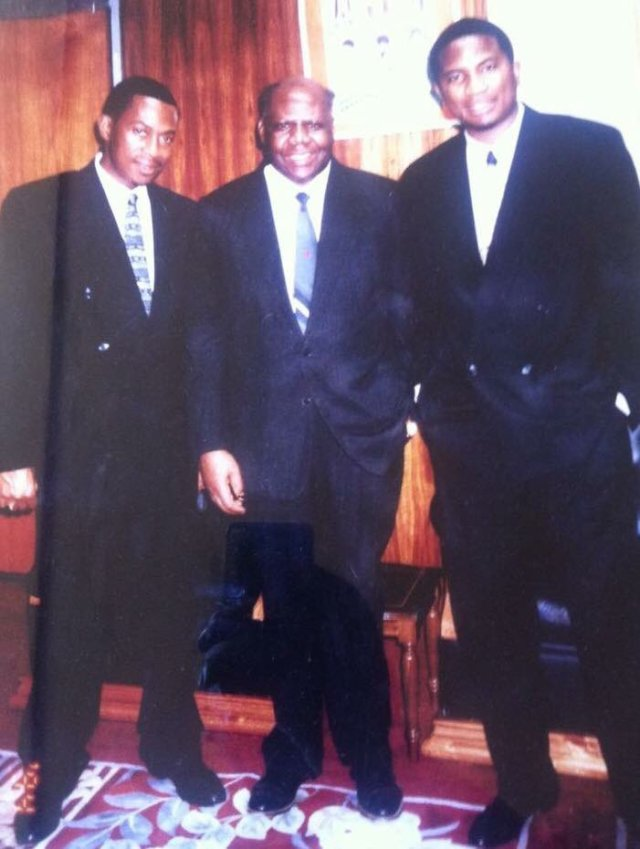 "Ranga.🇿🇼 on Twitter: ""#TBT: Businessman and black empowerment campaigner Roger Boka, flanked by Peter Pamire and Philip Chiyangwa.… """