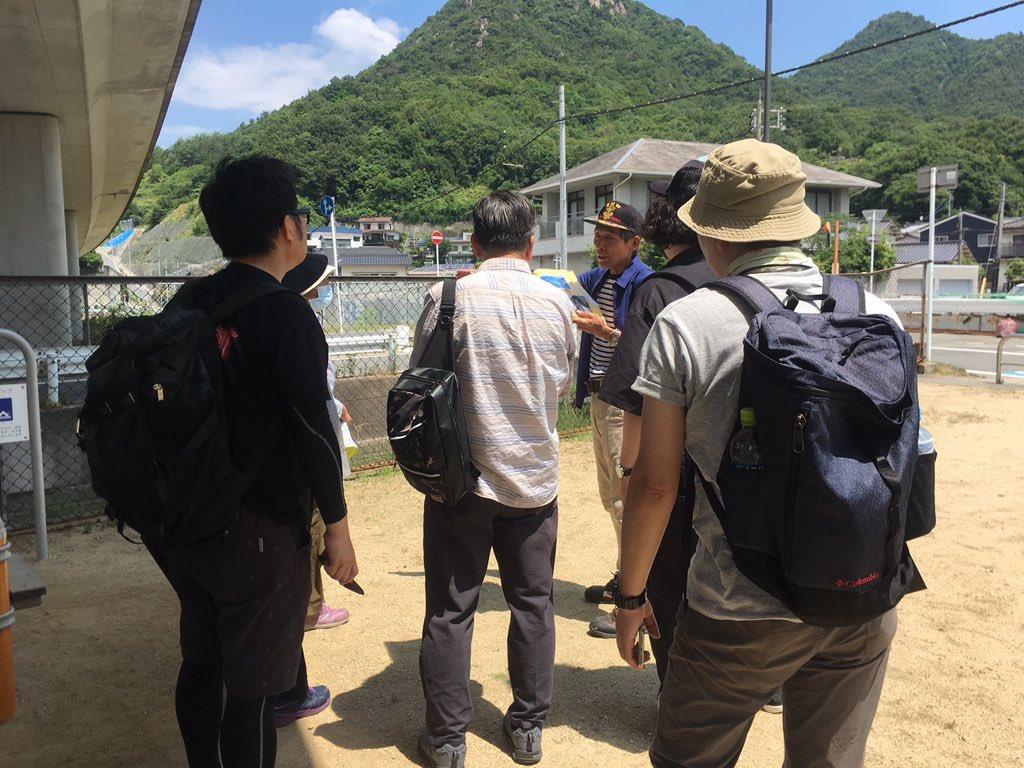 test ツイッターメディア - ラジオで伝えます。RT @kurekankou 西日本豪雨災害から一年。天応地区を歩いてみよう。呉市の中で被害が大きかった天応地区にお住いの方に、当時の状況とその後の復興の様子を伺いながら歩きました。実際に自分の目で見ると想像よりはるかにズシンと響きます。広島FM 大窪さんもご参加下さいました。 https://t.co/PTnFKJIxQC