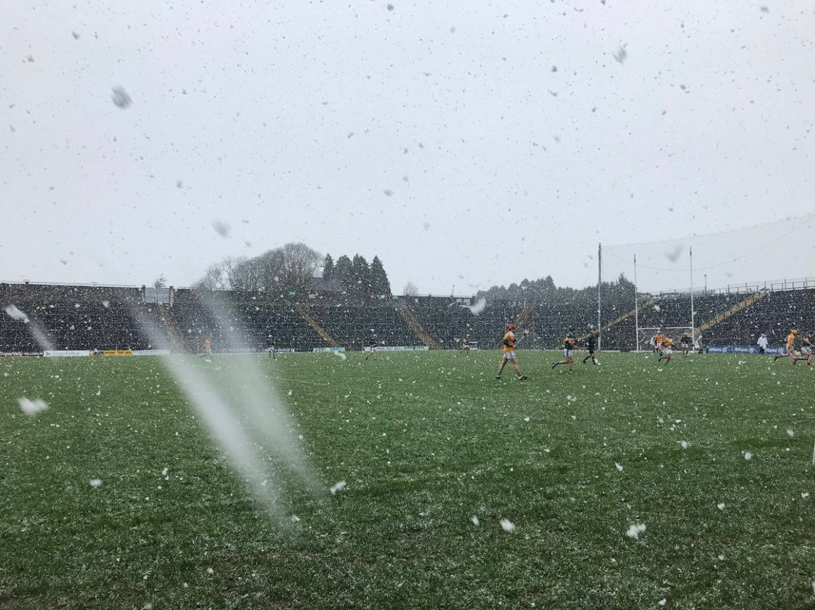 test Twitter Media - We are in a White Fitzgerald stadium Killarney today for the Kerry v Monaghan in the Allianz league. Working for Nemeton/TG4, throw in here is at 15.00 https://t.co/9M4k1aqAqa