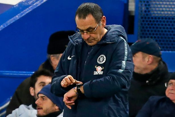"D15fpQtXcAEGsoX - Everton vs Chelsea: ""Project Sarri Is A Failure"" – Chelsea Fans"