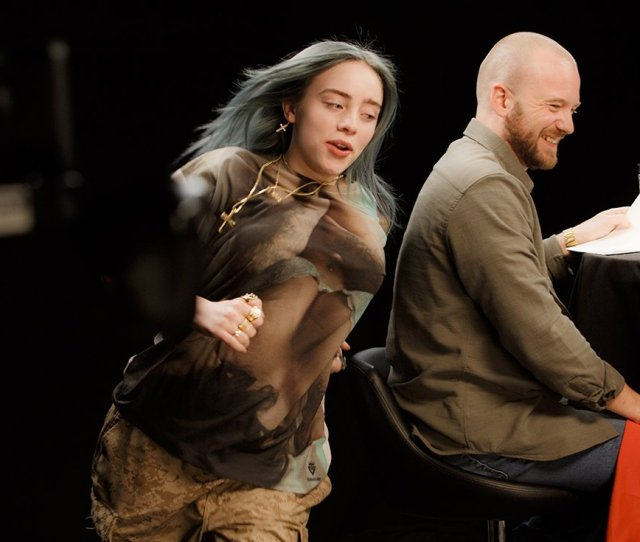 Sean Evans On Twitter Heres Billieeilish Pulling Out All The