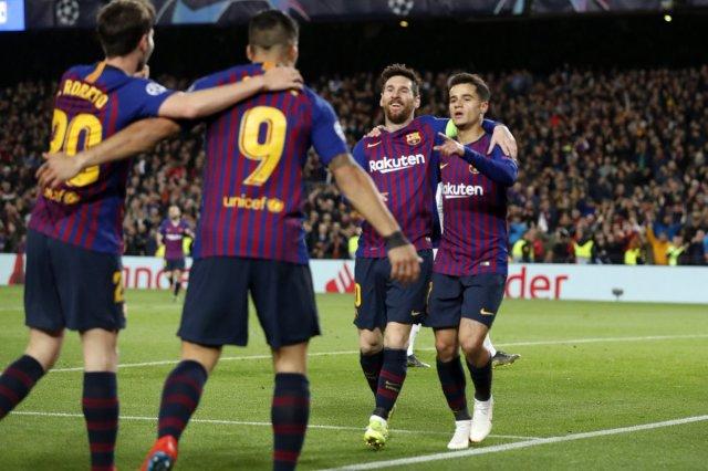برشلونة يسحق ليون ويتأهل لربع نهائي دوري أبطال أوروبا 26