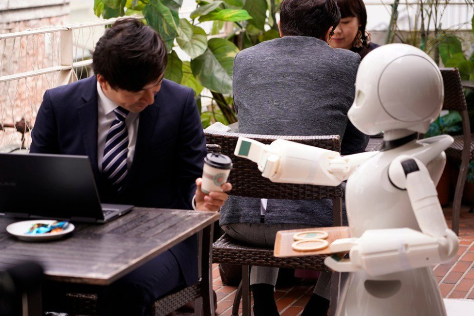 test Twitter Media - The #OriHime series of alter-ego #robots being developed by a Japanese start-up, will empower people who have difficulties in going outside for various reasons — engineers across Japan are accelerating their efforts to realize their dreams like this by 2020 !! #AvatarRobots https://t.co/FHWntVI3R5