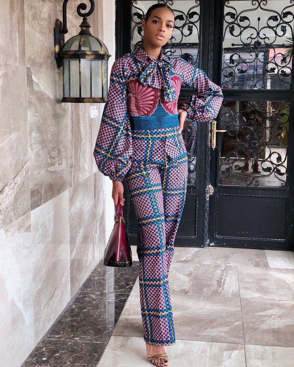 Azzüre Fashion On Twitter Rtncfashion Le Tissu Congolais