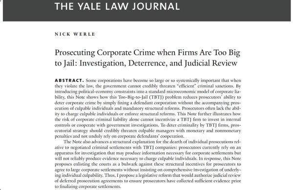 the yale law journal forum the punishment bureaucracy - HD1199×779