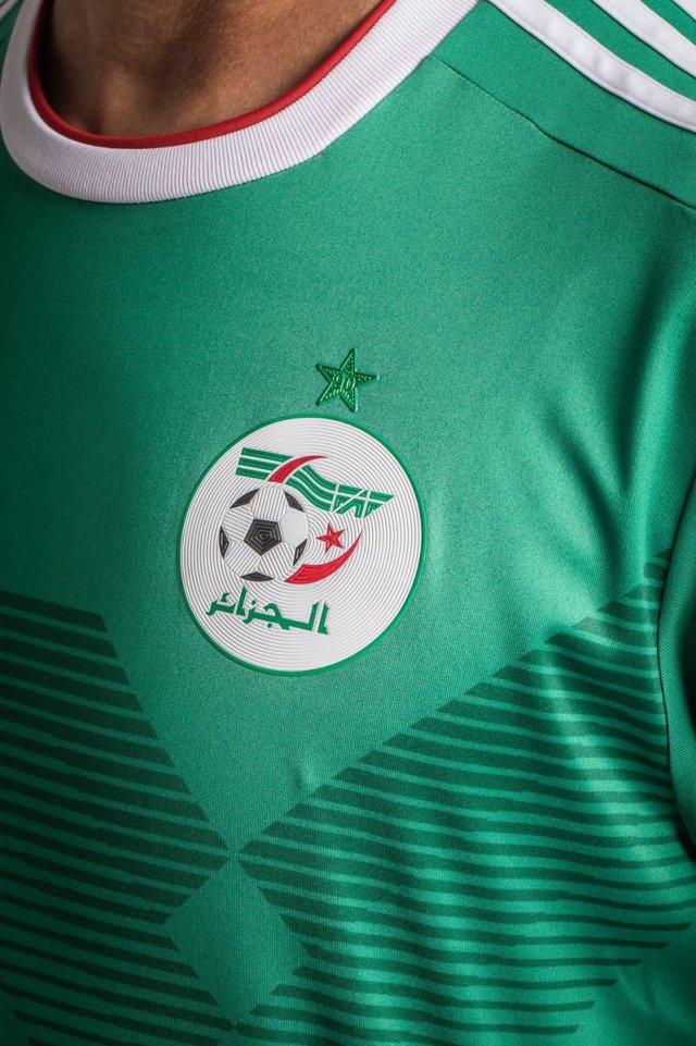 بالصور .. قميص المنتخب الجزائري الجديد الخاص بكأس أمم أفريقيا 2019 26