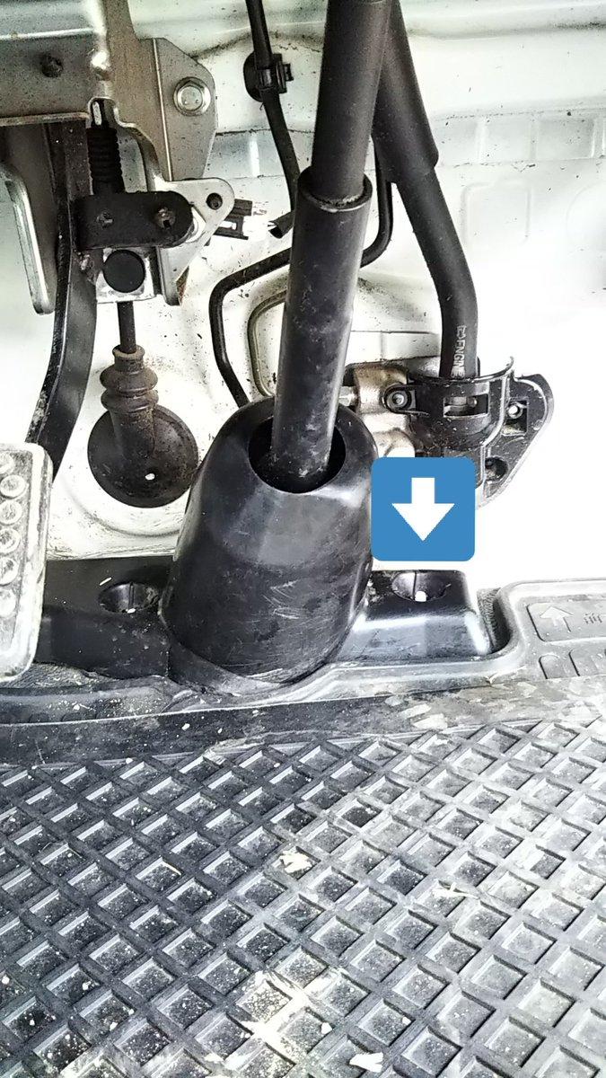 test ツイッターメディア - ハイゼットトラック、車検から戻りましたー。が、矢印の部分から泥汚れが入って、パワステ(うちのは無し)とか壊れやすいから注意してねと言われました。スズキはリコールになった事があるそうですが、ダイハツは? https://t.co/HZnJ58gfZd