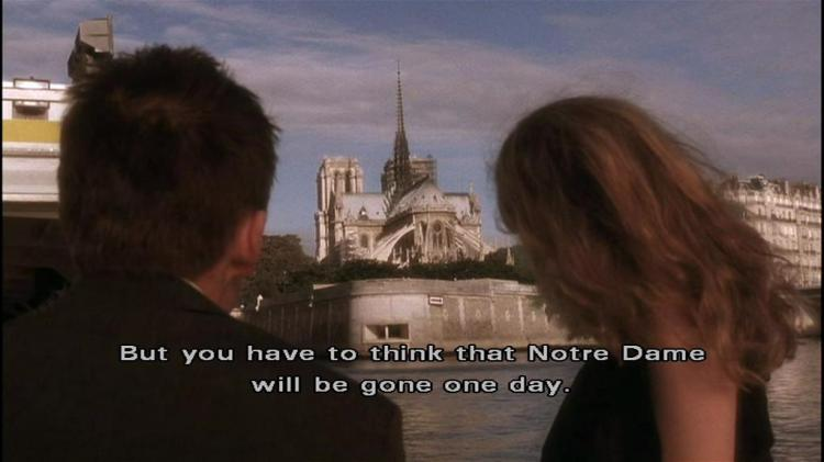 Resultat d'imatges de before sunset notre dame